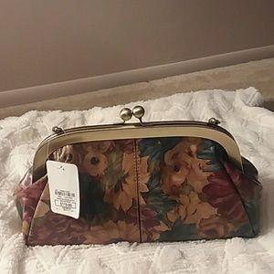 NWT, Patricia Nash leather purse